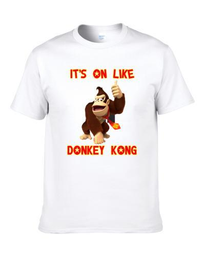 Its On Like Donkey Kong Popular 80s Video Game Fan T Shirt