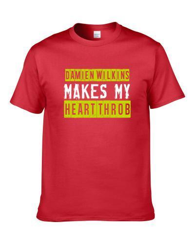 Damien Wilkins Makes My Heart Throb Atlanta Basketball Player Cool Fan T-Shirt