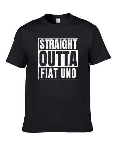 Straight Outta Fiat Uno Compton Parody Car Lover Fan Hooded Pullover T Shirt