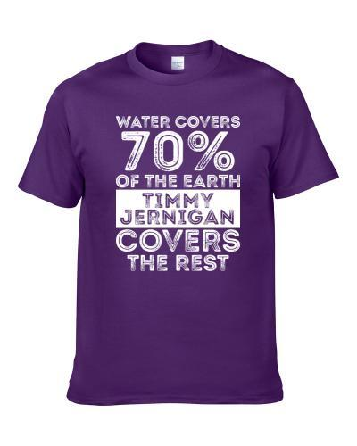 Water Covers Earth Timmy Jernigan Baltimore Sports Football Men T Shirt