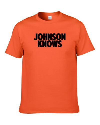 Josh Johnson Knows Cincinnati Football Player Sports Fan S-3XL Shirt