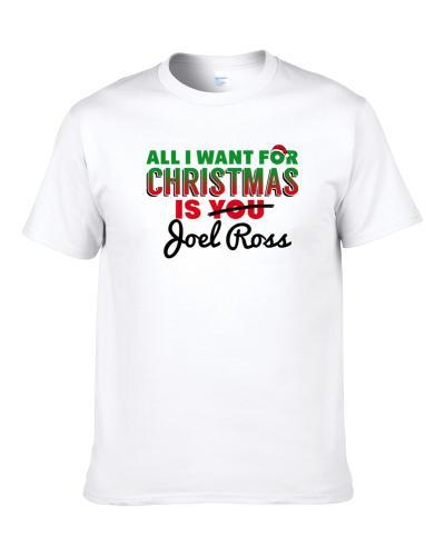 All I Want For Christmas Is Joel Ross Dallas Football Fan Shirt