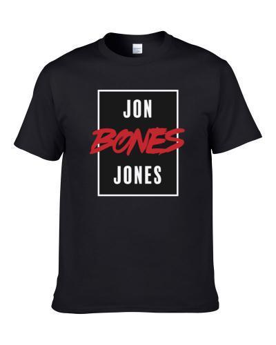 Jon Bones Jones Ufc Fighter Logo Fan S-3XL Shirt