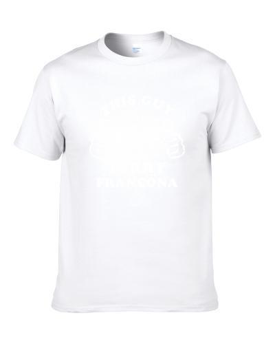 This Guy Loves Terry Francona Chicago Baseball S-3XL Shirt