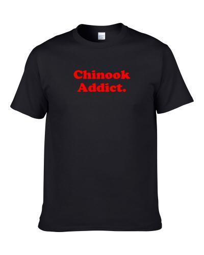 Chinook Addict Dog Lover Pet S-3XL Shirt