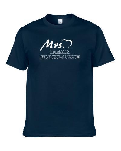This Girl Loves Dean Marlowe Carolina Football Player Sports Fan Heart Shirt