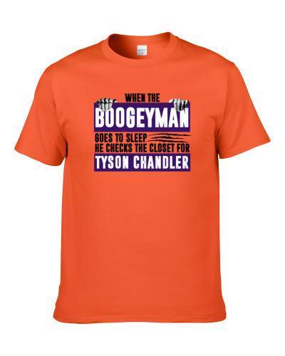Tyson Chandler Boogeyman Checks Closet For Phoenix Basketball Men T Shirt