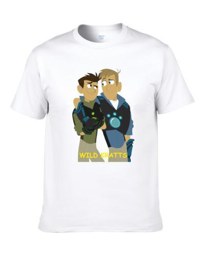 Wild Kratts Chris And Martin Popular Kids Tv Show Fan T Shirt