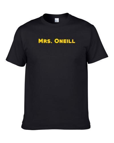 Mrs. Miss Ms. Last Name Surname Oneill tshirt