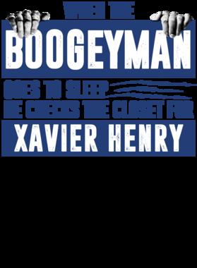 Xavier Henry Boogeyman Checks Closet For Memphis Basketball T-Shirt