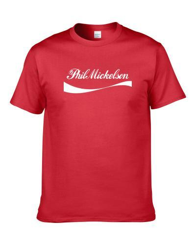 Phil Mickelson Cola Parody Golf Hall Of Fames TEE