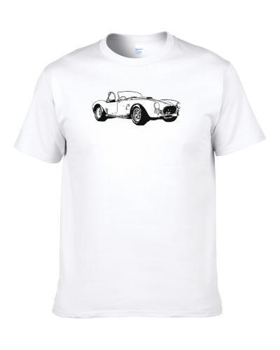 1966 Ac Cobra 427 B And W Vintage Car Lover Driver Fan Gift tshirt for men
