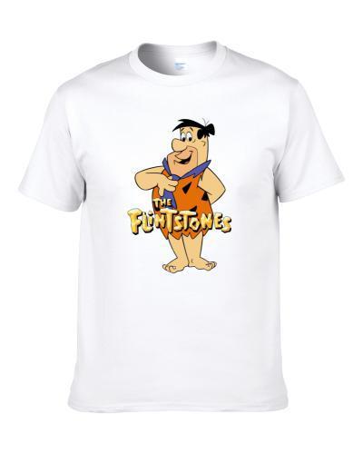 Fred Flintstones The Flintstones Funny Cartoon Fan S-3XL Shirt