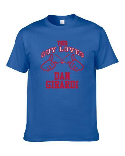 This Guy Loves Dan Girardi New York Ny Hockey Player Sports Fan Shirt