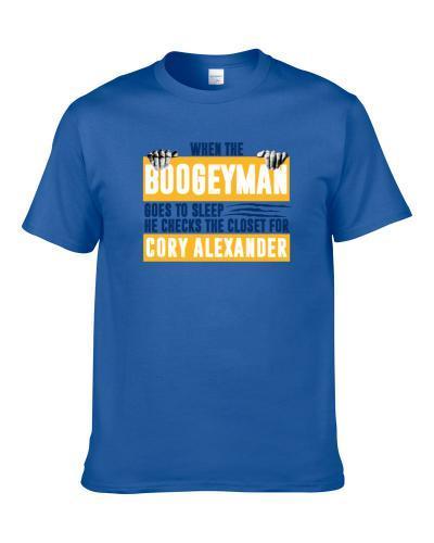 Cory Alexander Boogeyman Checks Closet For Denver Basketball Men T Shirt