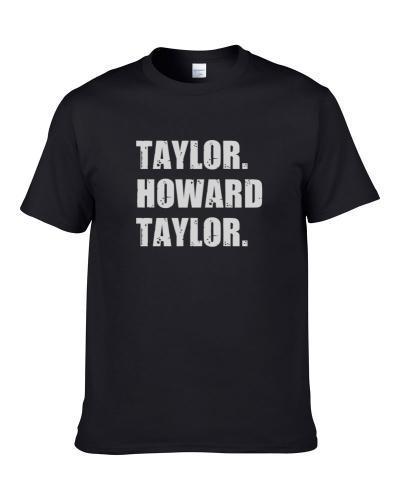 Howard Taylor Tennis Player Name Bond Parody S-3XL Shirt