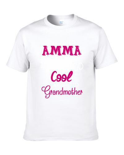 Im Called Amma Because Im Too Cool Icelandic  Grandmother Men T Shirt