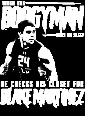 When The Boogyman Sleeps He Checks For Blake Martinez Green Bay Football Men T Shirt