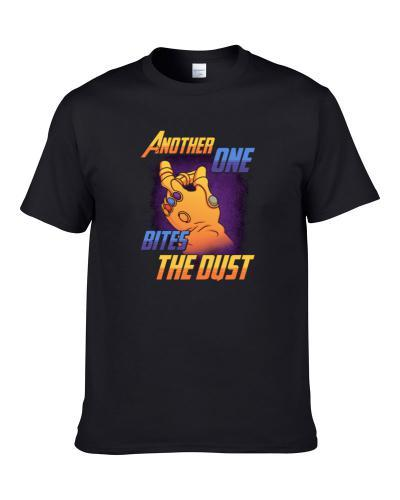 Another One Bites The Dust Thanos Avengers S-3XL Shirt