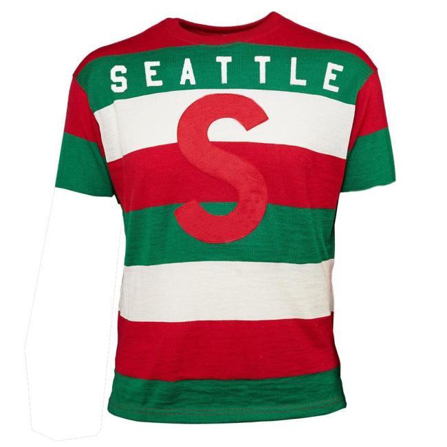 Seattle Metropolitans Hockey T-shirt(#538)