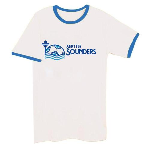 1983 Seattle Sounders Alternate Logo Tee(#C74)