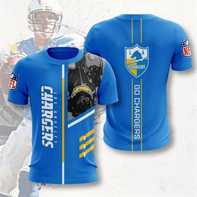 Los Angeles Chargers Football Jersey (#A70)