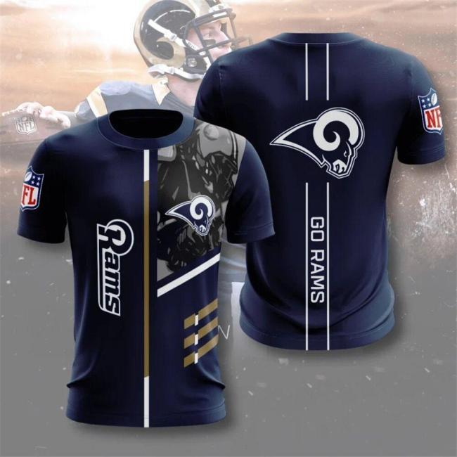 Los Angeles Rams Football Jersey (#A49)