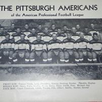 Pittsburgh Americans 1936 Football Tee(#D70)
