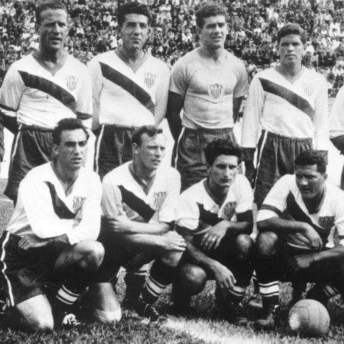 United States 1950 Retro Soccer Shirt (#688)