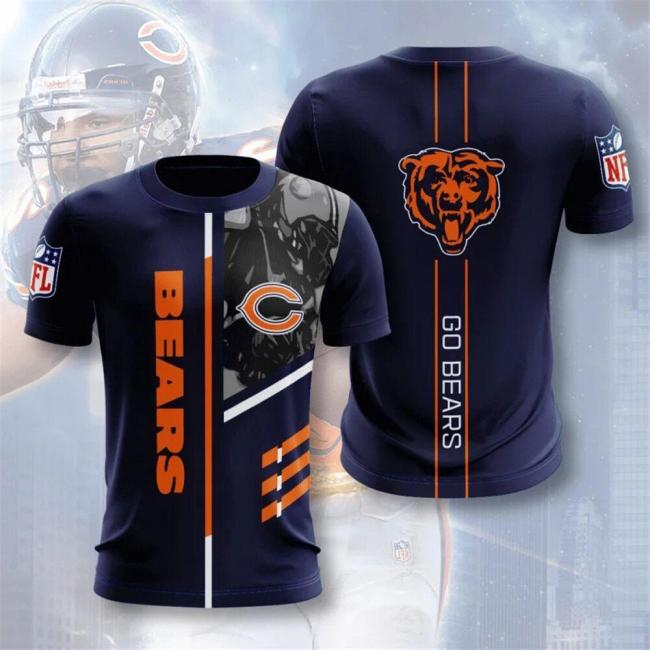 Chicago Bears Football Jersey (#A51)