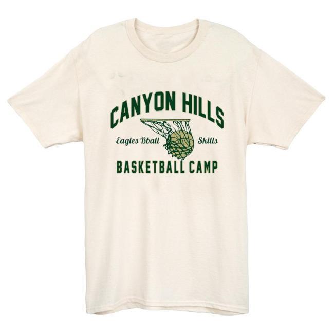 Canyon Hills Basketball T-shirt(#623)