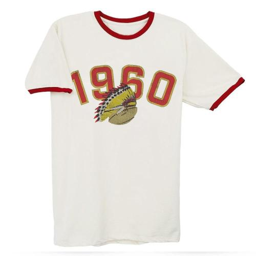 Streaker Sports 1960 Football Tee(#D77)
