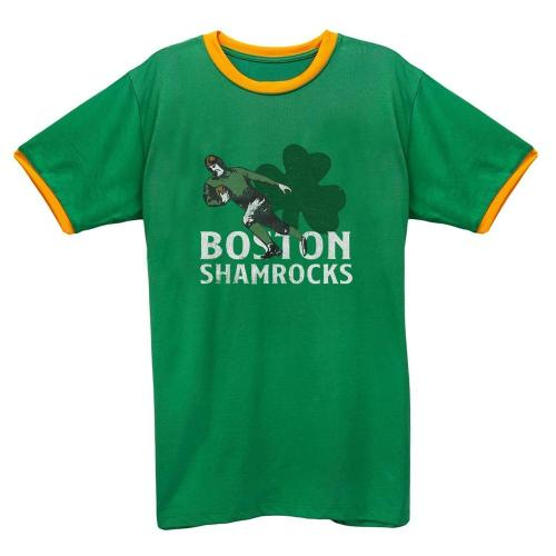 Boston Shamrocks 1936 Football Tee(#D69)