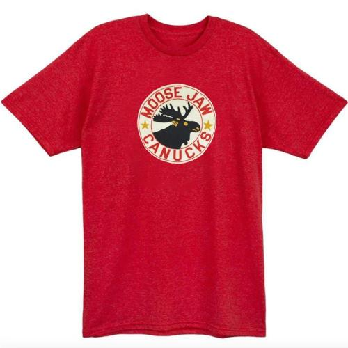 10% SAVE - Moose Jaw Canucks Hockey T-shirt(#543)