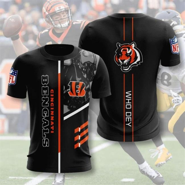 Cincinnati Bengals Football Jersey (#A68)
