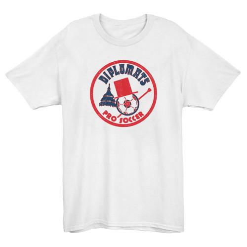 Washington Diplomats 1974 Soccer T-shirt(#C55)
