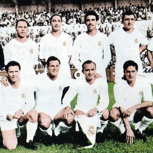 Real Madrid 1950 Soccer T-shirt(#C79)