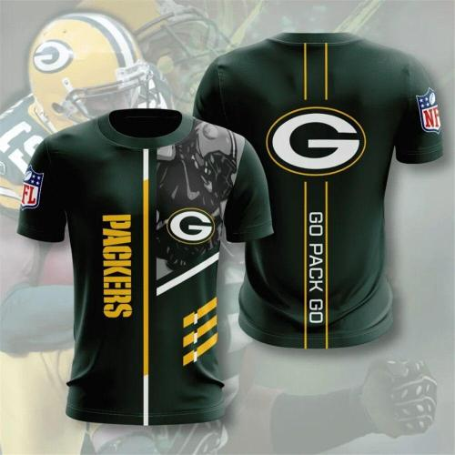 Green Bay Packers Football Jersey (#A55)