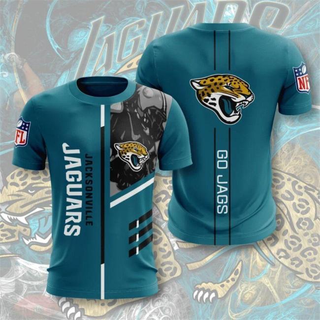 Jacksonville Jaguars Football Jersey (#A64)
