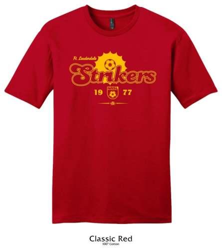 Fort Lauderdale Strikers 1977 Soccer T-shirt (#A82)