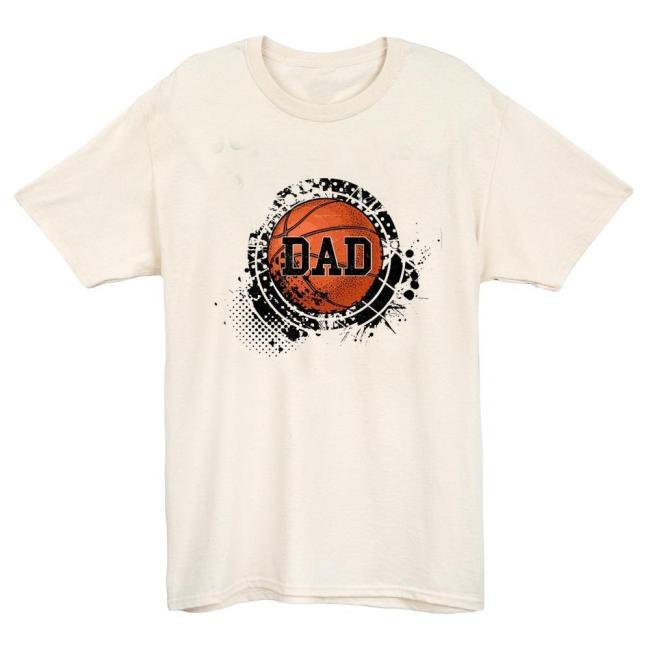 Basketball Dad T-shirt(#628)