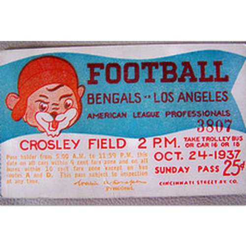 Cincinnati Bengals 1937 Football Tee(#D73)