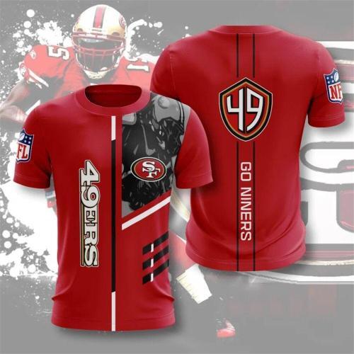 San Francisco 49ers Football Jersey (#A53)