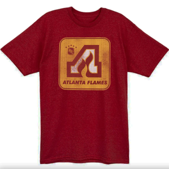 Atlanta Flames Hockey T-shirt (#L58)