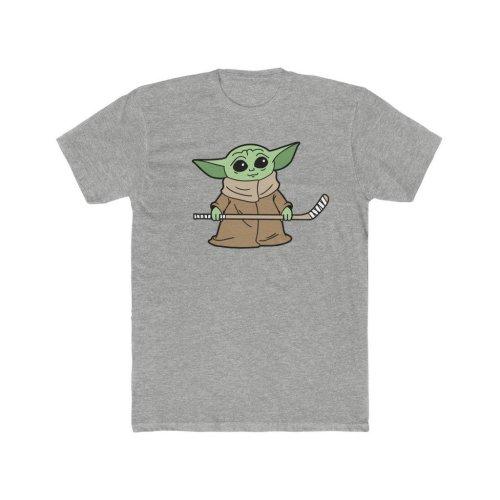Baby Yoda Hockey-#608