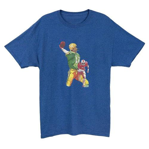 Father's Day Gift for Football Fans T-shirt(#664)