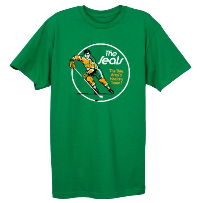 California Golden Seals Hockey T-shirt (#L81)