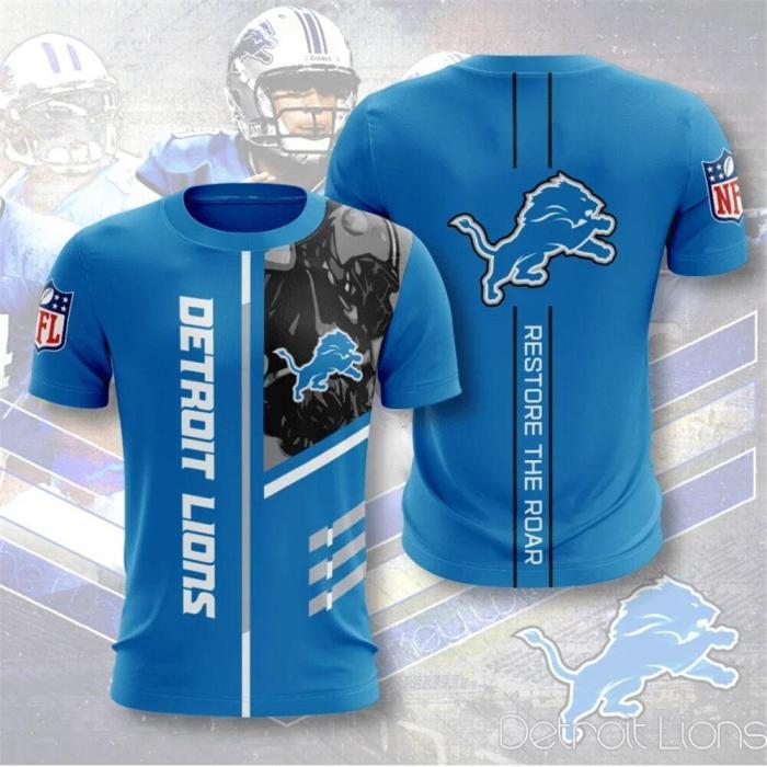 Detroit Lions Football Jersey (#A52)