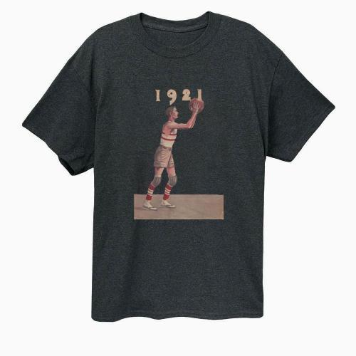 1921 Set Shot basketball T-shirt(#654)