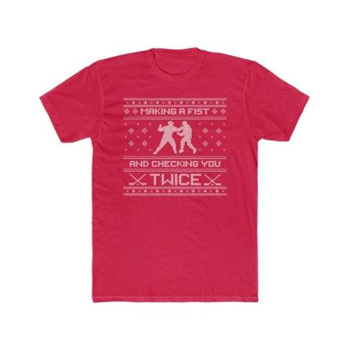 Holiday Hockey Sweater #K02
